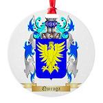 Quiroga Round Ornament