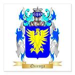 Quiroga Square Car Magnet 3