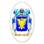 Quiroga Sticker (Oval 10 pk)