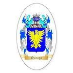 Quiroga Sticker (Oval 50 pk)