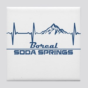 Boreal - Soda Springs - California Tile Coaster