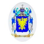 Quiroga Oval Ornament