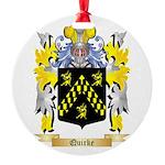 Quirke Round Ornament