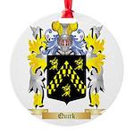 Quirk Round Ornament
