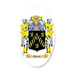 Quirk Oval Car Magnet