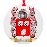 Quintas Round Ornament