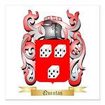 Quintas Square Car Magnet 3