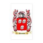 Quintas Sticker (Rectangle)