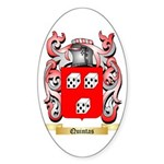 Quintas Sticker (Oval)
