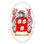 Quintas Sticker (Oval 50 pk)