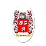 Quintas 35x21 Oval Wall Decal