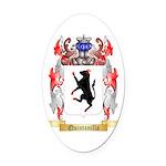 Quintanilla Oval Car Magnet