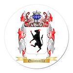 Quintanilla Round Car Magnet