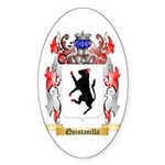 Quintanilla Sticker (Oval 10 pk)
