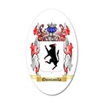 Quintanilla 35x21 Oval Wall Decal