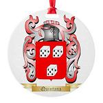 Quintana Round Ornament