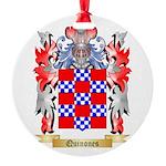 Quinones Round Ornament