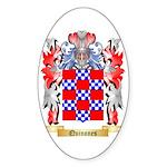Quinones Sticker (Oval 10 pk)