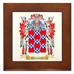 Quinones Framed Tile