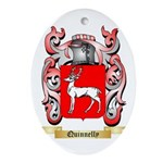 Quinnelly Oval Ornament