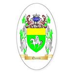 Quinn Sticker (Oval)