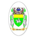 Quinn Sticker (Oval 10 pk)