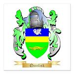 Quinlisk Square Car Magnet 3