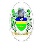 Quinlisk Sticker (Oval 50 pk)