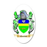 Quinlisk 35x21 Oval Wall Decal