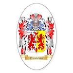 Quinlevan Sticker (Oval 50 pk)