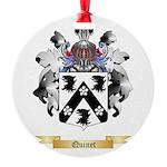 Quinet Round Ornament