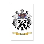 Quinet 20x12 Wall Decal