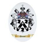 Quinet Oval Ornament