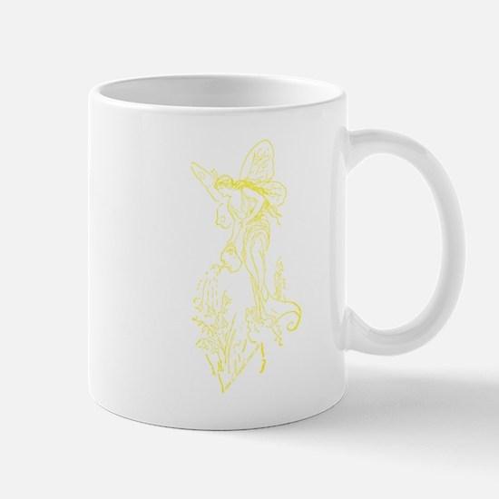 Caring Fairy - Yellow - Mug