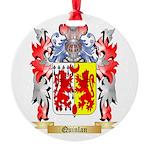 Quinlan Round Ornament