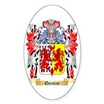 Quinlan Sticker (Oval)