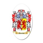 Quinlan 35x21 Oval Wall Decal