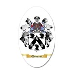 Quineaux 35x21 Oval Wall Decal