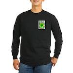 Quilty Long Sleeve Dark T-Shirt