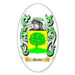 Quilty Sticker (Oval)