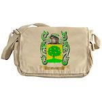 Quilty Messenger Bag