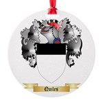 Quiles Round Ornament