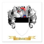 Quiles Square Car Magnet 3