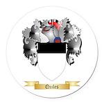Quiles Round Car Magnet