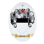 Quiles Oval Ornament