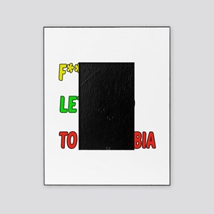 Let's go to Colombia Picture Frame