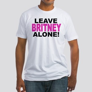 Leave Britney Alone! Fitted T-Shirt