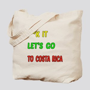 Let's go to Costa Rica Tote Bag