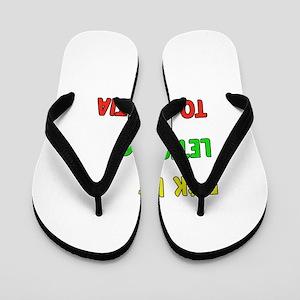 Let's go to Croatia Flip Flops