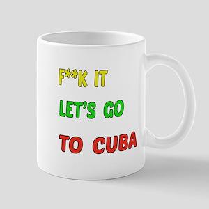 Let's go to Cuba Mug